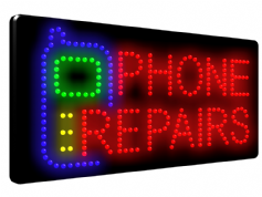 PHONE REPAIRS LED SIGN